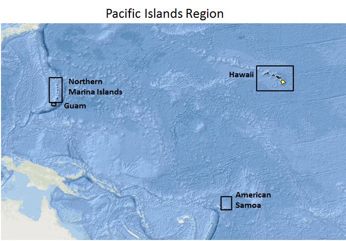 Guam And Hawaii Map.Guam Data Portal